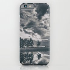 Black and white lake iPhone 6s Slim Case