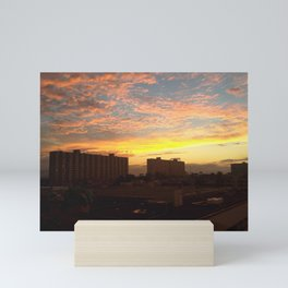 Sunset 2 Mini Art Print