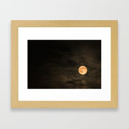 Mr Moon Framed Art Print