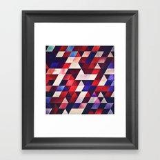 ryd whyte blww Framed Art Print