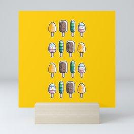 Fun Ice Lollies / Popsicles Mini Art Print