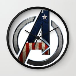 UNREAL PARTY 2012 THE AVENGERS  CAPTAIN AMERICA  Wall Clock
