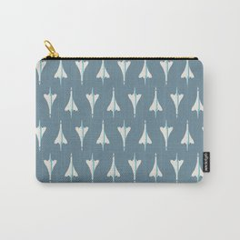 Concorde Supersonic Jet Airliner - Slate Carry-All Pouch