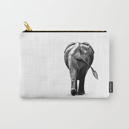Elephant butt Carry-All Pouch