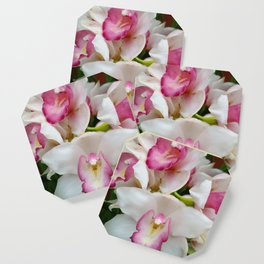 Orchid in Pink Coaster