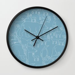 Global warming and animal migration 03 Wall Clock