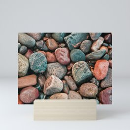 Pebbles of Isle of Skye Mini Art Print