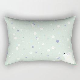 snowfall 3 Rectangular Pillow