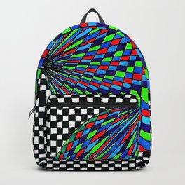 Colourful Circle Backpack