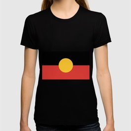 Australian Aboriginal Flag T-shirt
