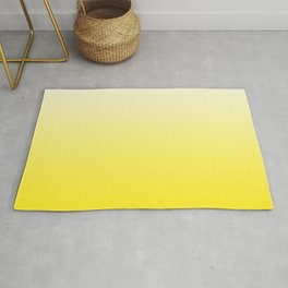 White and Yellow Gradient 025 Rug