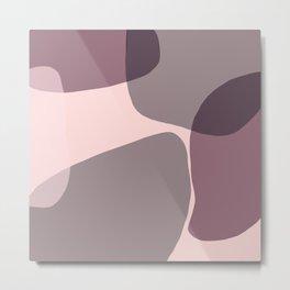Blush Purple and Blue I Metal Print