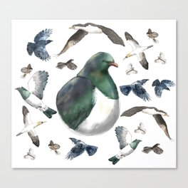Bird Bonanza Canvas Print