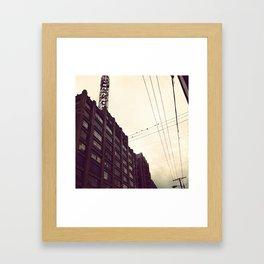 Los Angeles Fashion District Framed Art Print