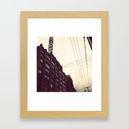 Los Angeles Fashion District Framed Art Print