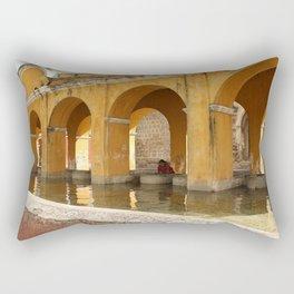 Antigua, Guatemala. Laundry. Rectangular Pillow