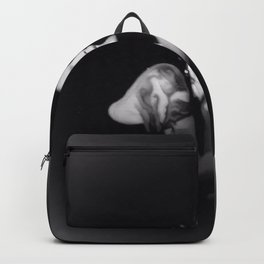 Beth Hart - Portrait - Black and White - Vignette Backpack