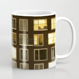 Modern apartment at night Coffee Mug