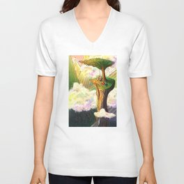 Blissful Isolation Unisex V-Neck