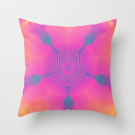Entheogen V.3 Throw Pillow