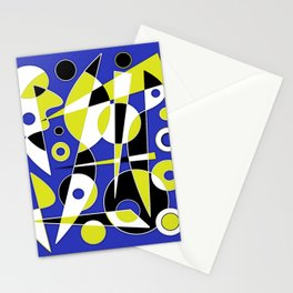 Abstract #853 Stationery Cards