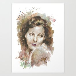 American Lady Art Print