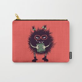 Evil Bug Student Loves To Read Carry-All Pouch