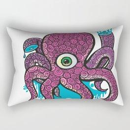wounded octopus Rectangular Pillow