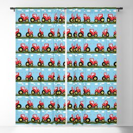 Toy tractor pattern Blackout Curtain