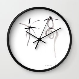 Name: Michael in Cantonese words Wall Clock
