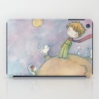 le petit prince iPad Cases featuring Le Petit Prince by malipi