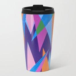 Crystal Stalagmites Metal Travel Mug
