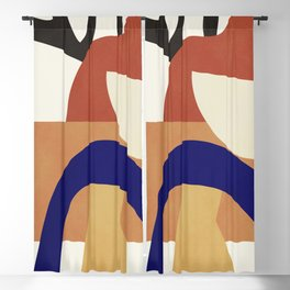 Abstract Art 38 Blackout Curtain