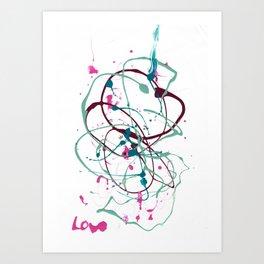 Mindfulness Nail Polish Art Print