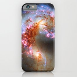 Antennae Galaxies iPhone Case