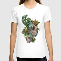succulent T-shirts featuring Succulent gardens by Nadine May