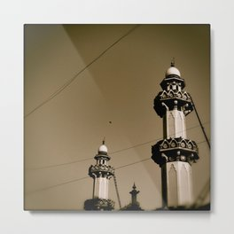 Mosque Minaret Metal Print