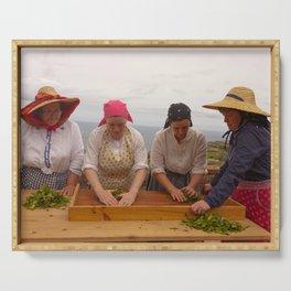 Porto Formoso tea gardens Serving Tray