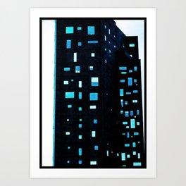 Building at Dusk - New York City Art Print