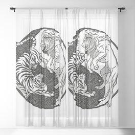 Wild Spirits Sheer Curtain