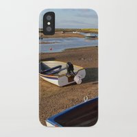 rowing iPhone & iPod Cases featuring Rowing Boats by Jude NH