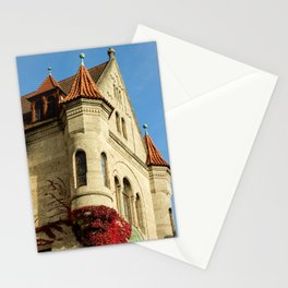 Oriel tower at the Castle Stationery Cards