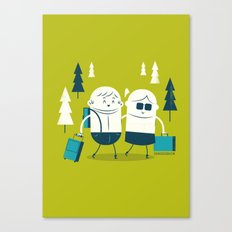 :::Excursion time::: Canvas Print