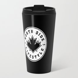 North Side Lifestyle (white) Travel Mug
