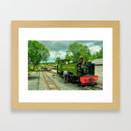 Devils Bridge Steam Framed Art Print