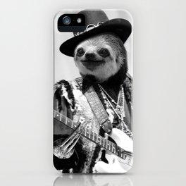 Rockstar Sloth #2 iPhone Case