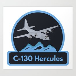 Air Force C-130 Hercules Art Print