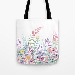 Sweet Spring Meadow Tote Bag