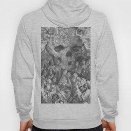 Rubino Vintage Skull Garden Rise Hoody