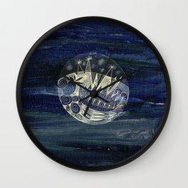 my little planet Wall Clock